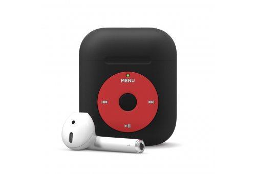 Elago для AirPods Gen 1 & 2 чехол Unique AW6 Music player case Black