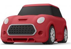 Elago для AirPods Gen 1 & 2 чехол Unique Mini Car Hang case Red