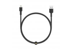 Кабель Aukey MFi Lightning 8 pin Sync and Charging Cable,L=2M black & white