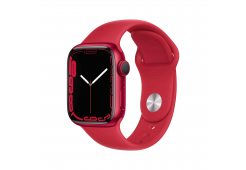 Apple Watch Series 7 GPS, 41mm (PRODUCT)RED Aluminium Case with (PRODUCT)RED Sport Band