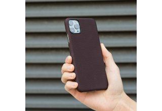 Чехол Pitaka MagEz Case for iPhone 11 Pro (Black/Red Plain)