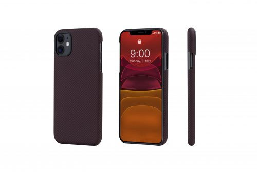 Чехол Pitaka MagEz Case for iPhone 11 (Black/Red Plain)
