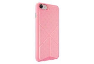 Чехол Ozaki O!coat 0.3+Totem Versatile для iPhone 7. Материал пластик/полиуретан. Цвет: розовый.