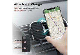 Чехол Pitaka MagEz Case for iPhone 11 Pro Max (Black/Grey Twill)