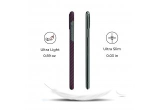 Чехол Pitaka MagEz Case for iPhone 11 Pro (Black/RedTwill)