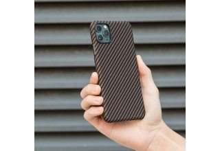 Чехол Pitaka MagEz Case for iPhone 11 Pro (Black/Gold Twill)