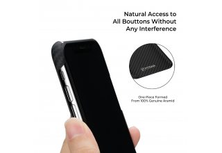 Чехол Pitaka MagEZ Case for iPhone Xs Max (Black/Grey Twill)