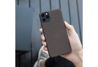 Чехол Pitaka MagEz Case for iPhone 11 Pro Max (Black/Gold Twill)