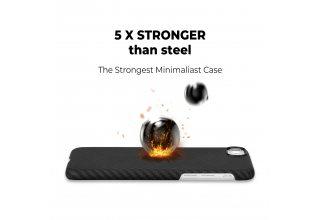 Чехол Pitaka MagEZ Case for iPhone SE (Black/Grey Twill)