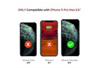 Чехол Pitaka MagEz Case for iPhone 11 Pro (Black/Grey Plain)