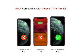 Чехол Pitaka MagEz Case for iPhone 11 Pro Max (Red/Orange)