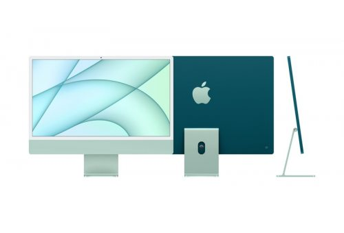 """Apple iMac 24"""" Retina 4,5K, (M1 8C CPU, 7C GPU), 8 ГБ, 256 ГБ SSD, зеленый Apple MJV83RM/A MJV83RM/A"""