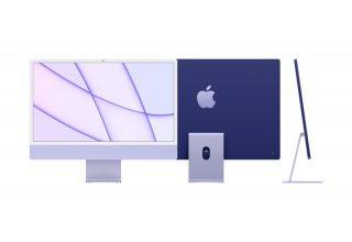 """Apple iMac 24"""" Retina 4,5K, (M1 8C CPU, 8C GPU), 8 ГБ, 256 ГБ SSD, синий Apple MGPK3RM/A MGPK3RM/A"""