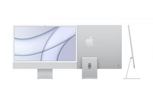 """Apple iMac 24"""" Retina 4,5K, (M1 8C CPU, 7C GPU), 8 ГБ, 256 ГБ SSD, серебристый Apple MGTF3RM/A MGTF3RM/A"""