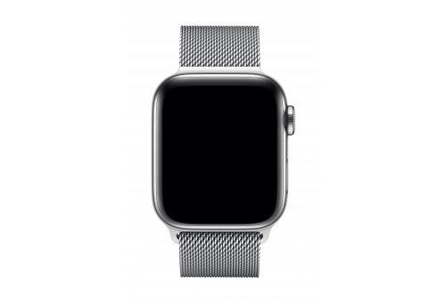 Браслет Apple Watch 40мм, миланский сетчатый, серебристый