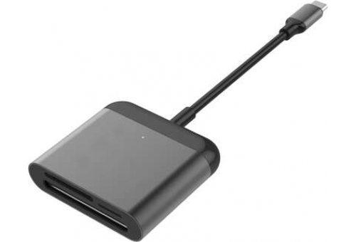 Кардридер Hyper HyperDrive USB-C Pro Card Reader порт Type-C. Цвет черный.