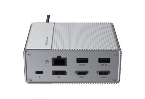 USB-хаб Hyper HyperDrive Gen2 12-Port USB-C Hub. Цвет: серый.