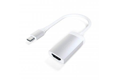 Кабель Satechi Aluminum Type-C to HDMI Adapter 4K (60Hz), серебристый