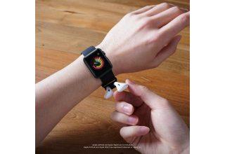 Ремень Elago Wrist Sport-fit для Apple Watch и AirPods, цвет чёрный