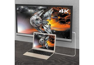 Кабель j5create USB-C to 4K HDMI.