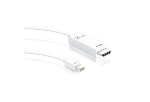 Кабель j5create Mini DisplayPort на 4K HDMI.