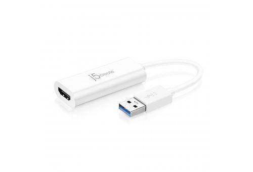 Адаптер j5create USB Type-A 3.0 на HDMI.