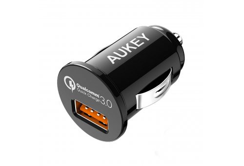 Автомобильное ЗУ AUKEY 1-Port 18W Car Charger with Quick Charge 3.0