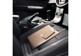 Автомобильное ЗУ Satechi 48W Car Charger Adapter: Type-C 36 Вт, USB 12 Вт. Цвет золотой
