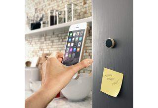 Магнитный держатель Satechi Aluminum Universal Magnet Mount для смартфонов, серебристый