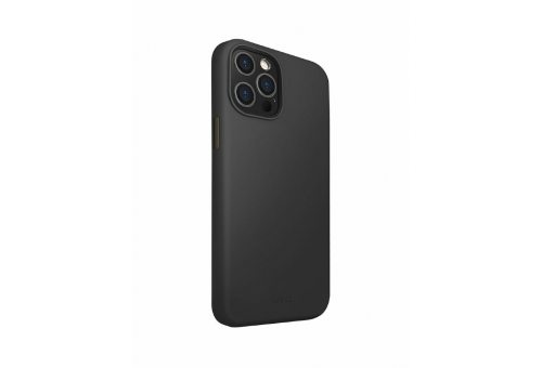 Чехол Uniq для iPhone 12 Pro Max (6.7) LINO Anti-microbial Black