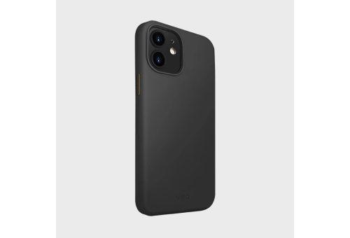 Чехол Uniq для iPhone 12 mini (5.4) LINO Anti-microbial Black