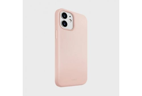 Чехол Uniq для iPhone 12 mini (5.4) LINO Anti-microbial Pink