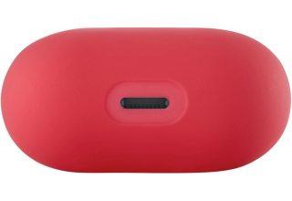 CS54RR12-AP Чехол защитный для AIRPODS, силиконовый, цвет: красный