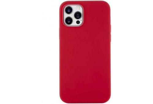 CS62RR61TH-I20 Touch Case, чехол защитный силиконовый для iPhone 12/12 Pro софт-тач, красный