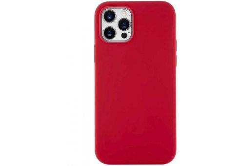 CS63RR67TH-I20 Touch Case, чехол защитный силиконовый для iPhone 12 Pro Max софт-тач, красный