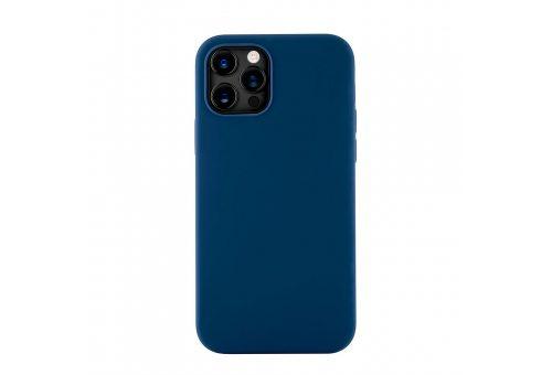 CS79DB61TH-I20M Mag Safe, чехол защитный для iPhone 12/12 Pro,  силикон, синий