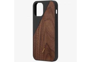 CWOOD-BLK-NP20L CLIC WOODEN чехол защитный для iPhone 12 Pro Max черный дерево