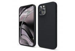 Чехол Elago для iPhone 12 Pro Max (6.7) мягкий силикон, чёрный