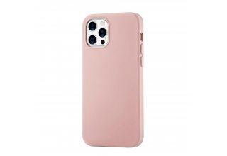 Mag Safe, чехол защитный для iPhone 12/12 Pro,  силикон, розовый