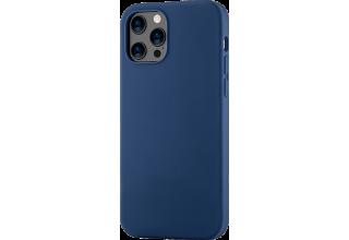Mag Safe, чехол защитный для iPhone 12 Pro Max,  силикон, синий