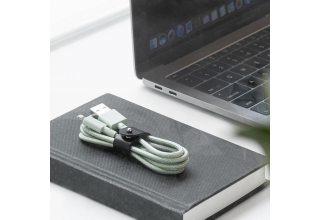 Кабель NATIVE UNION Belt Cable (USB-A - Lightning, 1,2 м), светло-зелёный Native Union BELT-L-GRN-2-NP BELT-L-GRN-2-NP