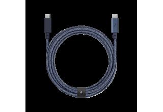 Кабель Native Union Belt USB-C - USB-C (2,4 м), индиго Native Union BELT-C-IND-PRO-NP BELT-C-IND-PRO-NP