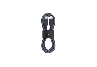 Кабель NATIVE UNION Belt Cable (USB-C - Lightning, 1,2 м), индиго Native Union BELT-CL-IND-2-NP BELT-CL-IND-2-NP