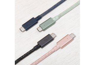 Кабель Native Union Belt USB-C - USB-C (2,4 м), зеленый Native Union BELT-C-GRN-PRO-NP BELT-C-GRN-PRO-NP