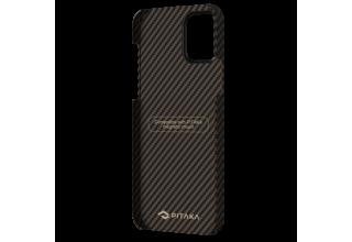 "Чехол Pitaka MagEz Case для iPhone 12 Pro Max 6.7"" (Black/Gold Twill)"