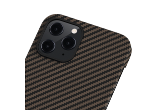"Чехол Pitaka MagEz Case для iPhone 12 Pro 6.1"" (Black/Gold Twill)"