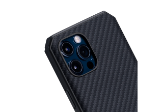 "Чехол Pitaka MagEz Case Pro для iPhone 12 Pro Max 6.7"" (Black/Grey Twill)"