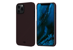 "Чехол Pitaka MagEz Case для iPhone 12 Pro 6.1"" (Black/Red Twill)"