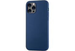 Чехол uBear Touch Case для iPhone 12/12 Pro, тёмно-синий