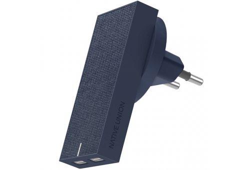 SMART-2-MAR-FB-INT СЗУ SMART CHARGER-DUAL USB, 2 USB-A, 3,1 A, цвет синий